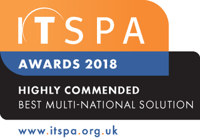 Best Multi-National Solution 2018 Highly Commended